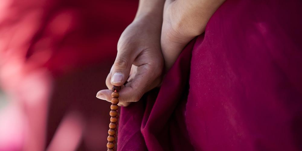 Monk Rosario Buddhist